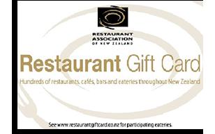 Restaurant Association Gift Card